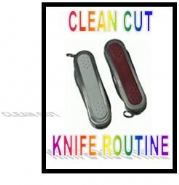 Clean Cut Colour Changing Knife Routine